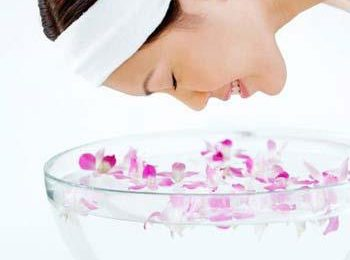 rose water face mask