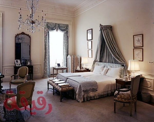 KN-C21506 09 May 1962 First Lady's Bedroom, White House.