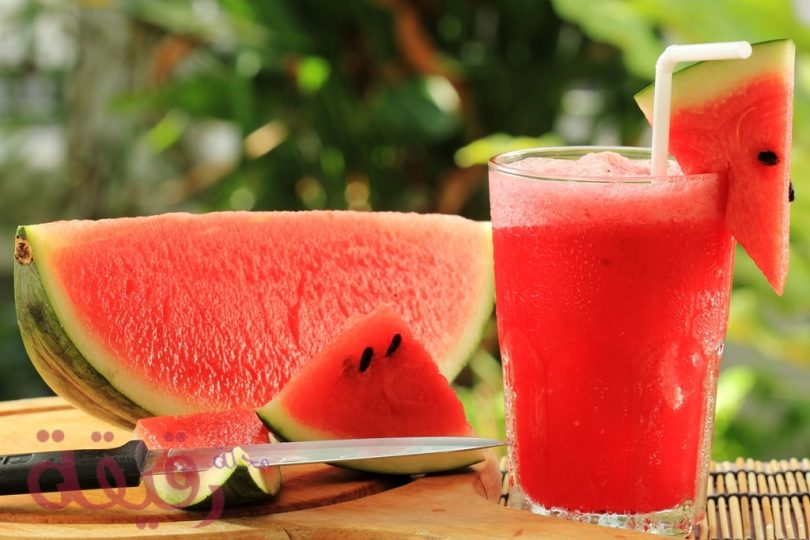 watermelon juice rqeeqa