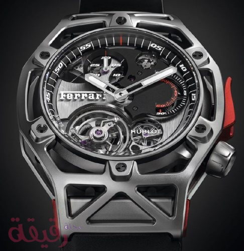 3ab2f8b7b396d Tourbillon Chronograph. Tourbillon Chronograph. مميزات ساعة فيراري  Tourbillon Chronograph
