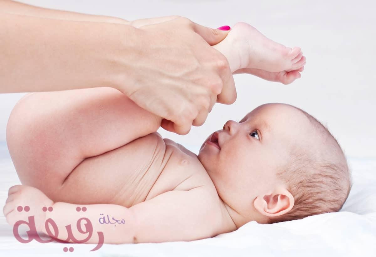 علاج الامساك عند الرضع 1