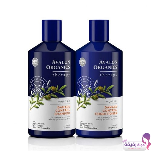 Avalon Organics Argan Oil Damage Control Shampoo