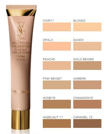 YSL Matt Touch Foundation