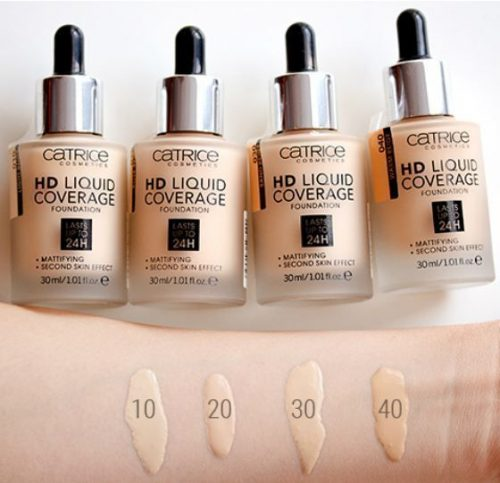 catrice Liquid Coverage Foundation