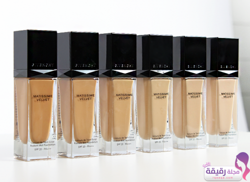 givenchy matissime velvet fluid foundation
