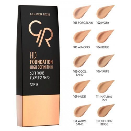 hd foundation golden rose