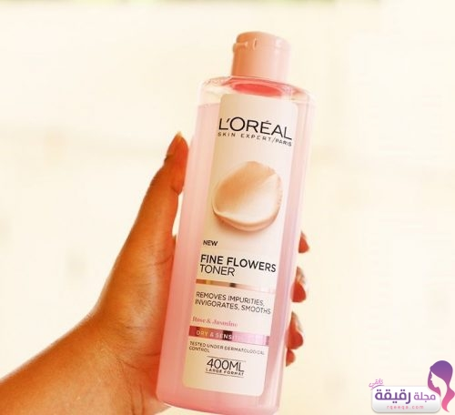 Loreal Paris Fine Flowers Cleansing Toner Dry & Sensitive Skin
