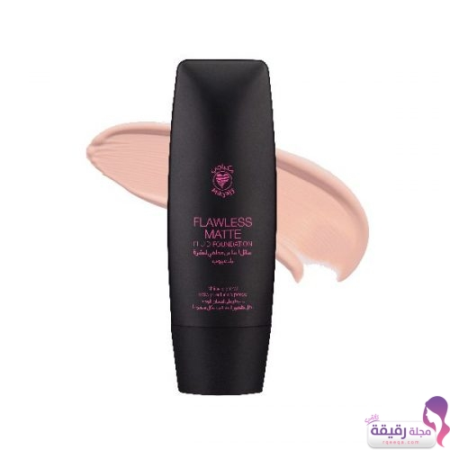 flawless matte foundation