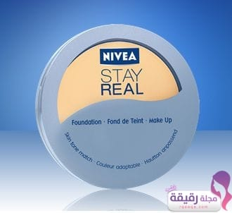 Fond de teint Nivea stay real compact foundation