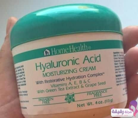 Home-Health-Hyaluronic Acid Moisturizing Cream with Restorative Hydration Complex
