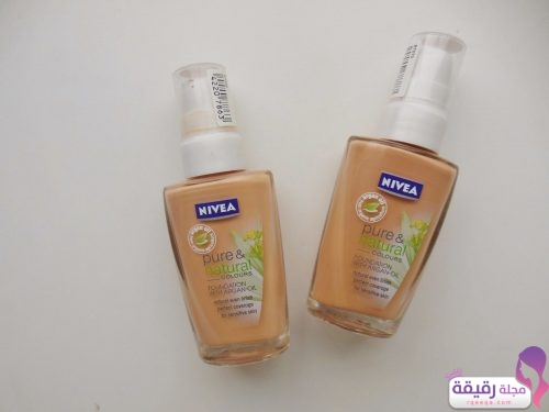Nivea Pure & Natural Colours Foundation With Argon Oil