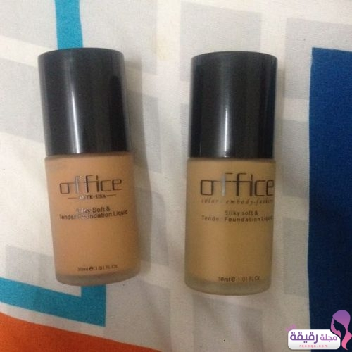 Silky Soft and Tender Foundation Liquid Office Cosmetics