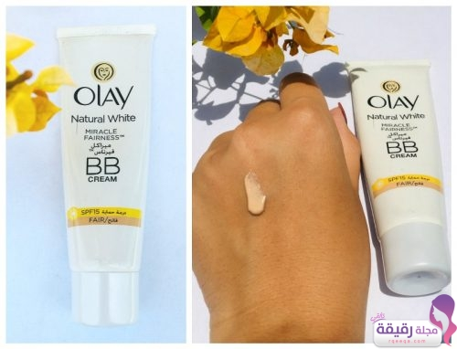 olay natural white miracle fairness bb cream