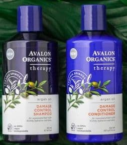 شامبو افالون بالارغان Avalon Organics Argan Oil Damage Control Shampoo